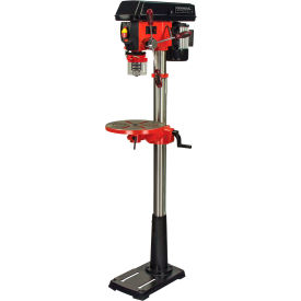 "General International DP2003 - 13"" 16 Speed Drill Press w/ Cross-Pattern Laser System + LED Lighting"