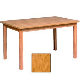 "Georgia Chair Laminate Top Juvenile Table 72""W X 30""D X 25""H, Provincial Finish"