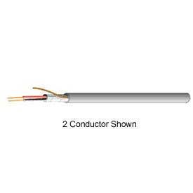 Carol E2002S.18.10 22/2 Shielded Riser Cable, Gray, 500 Ft