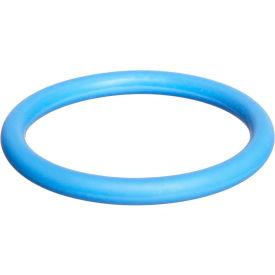 111 O-Ring Fluorosilicone, 7/16ID x 5/8OD, 70 Duro, Round, Blue