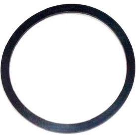 353 Contoured Backup Ring, 5ID x 5-3/8OD, 90 Duro, Round, Black