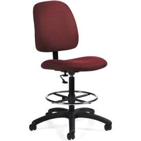 Global™ Goal - Drafting Chair - Rhapsody (Burgundy)