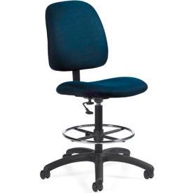 Global™ Goal - Drafting Chair - Ocean (Blue)