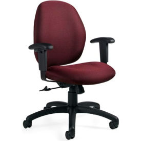Global™ Tilter Office Chair - Fabric - Low Back - Rhapsody - Graham Series