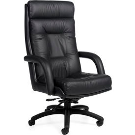 Global™ Arturo - Executive High Back Tilter - Black Upholstery