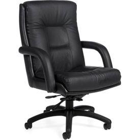 Global™ Arturo - High Back Tilter - Black Upholstery