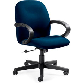 Global™ Enterprise - Tilter Office Chair - Fabric - Low Back - Navy - Enterprise Series