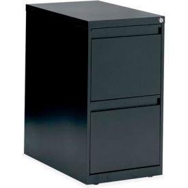 Global™ G-Series - Freestanding Pedestal - File/File - Black
