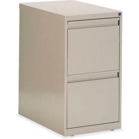 Global™ G-Series - Freestanding Pedestal - File/File - Desert Putty