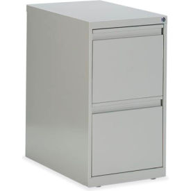 Global™ G-Series - Freestanding Pedestal - File/File - Light Grey