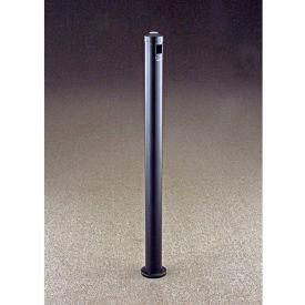 "Glaro Value-Max 3"" Dia. x 43""H Surface Mount Smokers Post, Satin Black - 2406-BK"