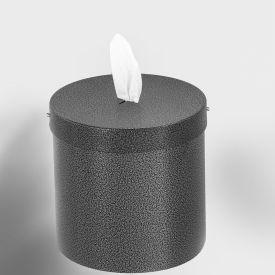 Glaro Wall Mount Sanitary Wipe Dispenser, Silver Vein - W1015-SV