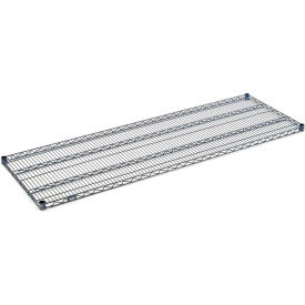 """Nexel S1472N Nexelon Wire Shelf 72""""W x 14""""D with Clips"""
