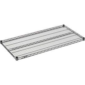 """Nexel S2442N Nexelon Wire Shelf 42""""W x 24""""D with Clips"""
