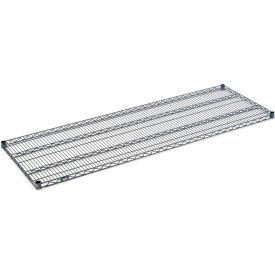 """Nexel S2454N Nexelon Wire Shelf 54""""W x 24""""D with Clips"""