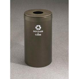 Glaro Value Recyclepro Single Stream Midnight Blue/Satin Brass, 15 Gallon Bottles/Cans -B-1242
