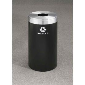 Glaro Value Recyclepro Single Stream Burgundy/Satin Brass, 23 Gallon Bottles/Cans -B-1542
