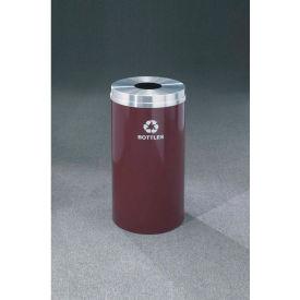 Glaro Recyclepro Single Stream Burgundy, 33 Gallon Bottle/Can - B-2032