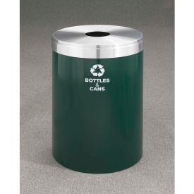 Glaro Value Recyclepro Single Stream Satin Black/Satin Brass, 41 Gallon Bottles/Cans -B-2042