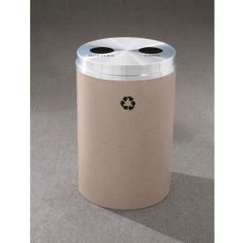 Glaro Recyclepro 2 Stream Midnight Blue/Satin Aluminum, (2) 16-1/2 Gallon Bottles/Cans - BC-2032