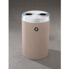 Glaro Recyclepro 2 Stream Burgundy, (2) 16-1/2 Gallon Bottles/Cans - BC-2032