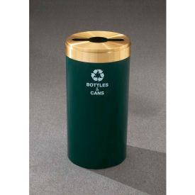 Glaro Value Recyclepro Single Stream Gloss Brass, 15 Gallon Mixed Recycle - M-1242