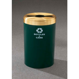 Glaro Value Recyclepro Single Stream Gloss Brass, 41 Gallon Mixed Recycle - M-2042