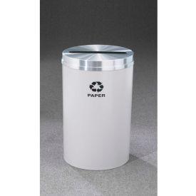 Glaro Recyclepro Single Stream Gloss Brass, 33 Gallon Paper - P-2032