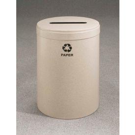 Glaro Value Recyclepro Single Stream Burgundy, 41 Gallon Paper - P-2042