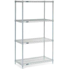 "Nexelate Wire Shelving, 24""W X 14""D X 74""H"