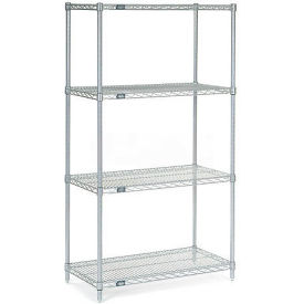 "Nexelate Wire Shelving, 42""W X 24""D X 86""H"