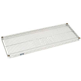 "Nexel S2124EP Nexelate Wire Shelf 24""W x 21""D with Clips"