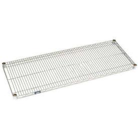 """Nexel S2424EP Nexelate Wire Shelf 24""""W x 24""""D with Clips"""