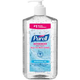 Purell Advanced Pump Bottle Instant Hand Sanitizer, 20 oz. 12/Carton - 3023-12
