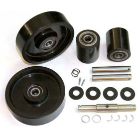 GPS Complete Wheel Kit for Manual Pallet Jack GWK-MLX55-CK - Fits Mobile Model # MLX55