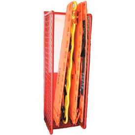 Red Rack™ Wall Mounted Back Board Rack Locker BBR-WM - Red