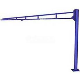 Gorbel® LD Free Standing Tool Solutions Jib Crane, 8' Span & 8' Height Under Boom, 50 Lb Cap