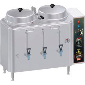 Coffee Urn, Twin 3 Gallon, Push Button Agitator