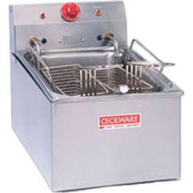 Countertop Medium Duty Electric Fryer,15 lb. Capacity