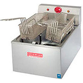 Countertop Medium Duty Electric Fryer-20 lb. Capacity