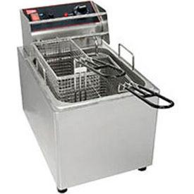 Countertop Electric Fryer-15 lb. Capacity, 240V