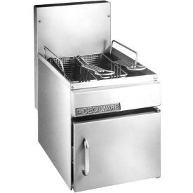 Countertop Gas Fryer, 10 lb, Nat Gas