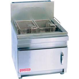 Countertop Gas Fryer, 28 lb, Liq Pro