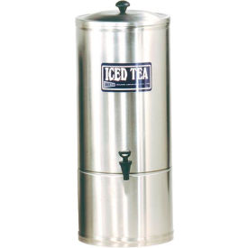 Stainless Steel Iced Tea Dispensers, 10 Gallon by