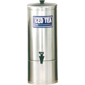 Stainless Steel Iced Tea Dispensers, 5 Gallon by