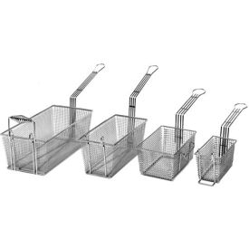 Countertop Fryer Baskets,13, 18 lbs. Gas; 15 lbs. Electric, Right Hook