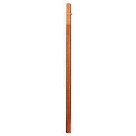Grosfillex® Bar Height Natural Wood Bottom Pole