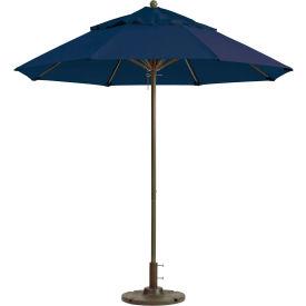 Grosfillex® Windmaster 7-1/2' Fiberglass Outdoor Umbrella - Navy