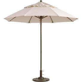 Grosfillex® 9' Windmaster Fiberglass Outdoor Umbrella - Canvas