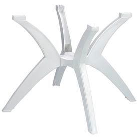 Grosfillex® Y-Leg Pedestal Outdoor Table Base - White